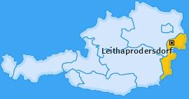 Karte von Leithaprodersdorf