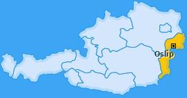Karte von Oslip