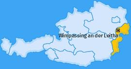 Karte von Wimpassing an der Leitha