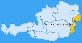 Karte von Wulkaprodersdorf