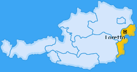 Karte von Loretto