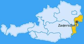 Karte von Zagersdorf