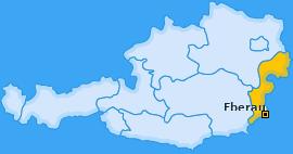 Karte von Eberau