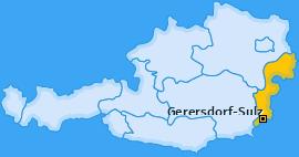 Karte von Gerersdorf-Sulz