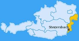 Karte von Stegersbach