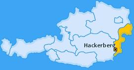 Karte von Hackerberg
