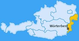 Karte von Wörterberg