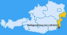 Karte von Heiligenkreuz im Lafnitztal
