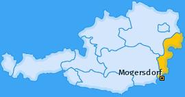 Karte von Mogersdorf