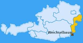 Karte von Weichselbaum