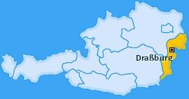 Karte von Draßburg
