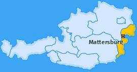 Karte Walbersdorf Mattersburg