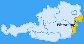 Karte von Pöttsching