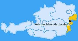 Karte von Rohrbach bei Mattersburg