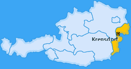 Karte von Krensdorf