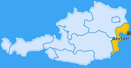 Karte von Andau