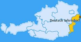 Karte von Deutsch Jahrndorf