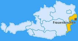 Karte von Frauenkirchen