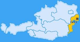 Karte von Gols