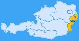 Karte von Jois