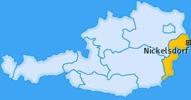 Karte von Nickelsdorf