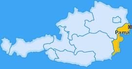 Karte von Pama