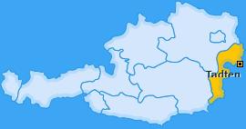 Karte von Tadten