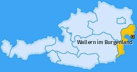 Karte von Wallern im Burgenland