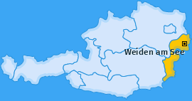 Karte von Weiden am See