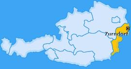 Karte von Zurndorf