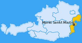 Karte von Markt Sankt Martin