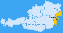 Karte von Neutal