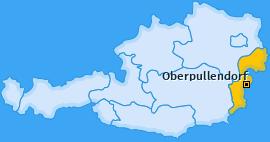 Karte von Oberpullendorf