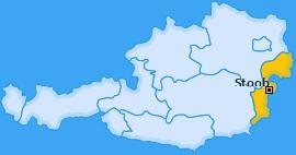 Karte von Stoob