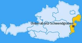 Karte von Unterrabnitz-Schwendgraben