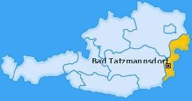 Karte von Bad Tatzmannsdorf