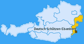 Karte von Deutsch Schützen-Eisenberg