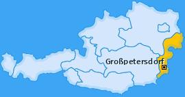 Karte von Großpetersdorf
