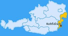 Karte von Kohfidisch