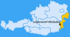 Karte von Loipersdorf-Kitzladen