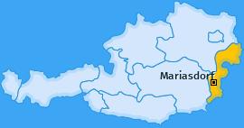 Karte von Mariasdorf