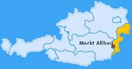 Karte von Markt Allhau