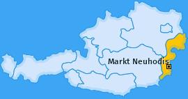 Karte von Markt Neuhodis