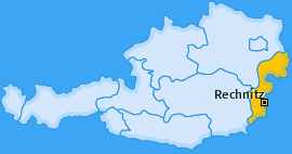 Karte von Rechnitz