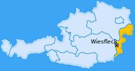 Karte von Wiesfleck