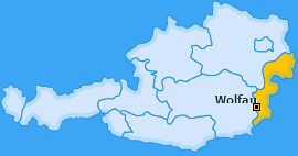 Karte von Wolfau