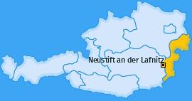Karte von Neustift an der Lafnitz