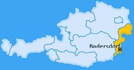 Karte von Badersdorf