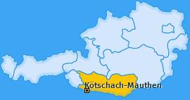Karte von Kötschach-Mauthen