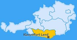 Bezirk Klagenfurt Land Landkarte